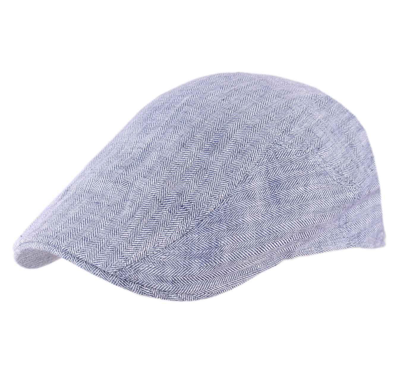 309ea5a0b5cb7a Ivy Cap Linen Fischgrat - Caps Stetson